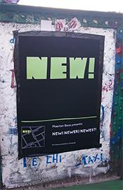 トルトーナ地区に向かう橋に掲示してあったマールテン・バースのポスター。