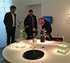 t.e.のトーマス・アイクは今年はstudio wieki somersが手がけたStill Watersという水の循環をイメージしたプロダクトを展示。