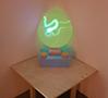 昨年、アイントホーフェンデザインアカデミーを卒業したばかりのDan Adlešičによる蓄光素材を使った『Radiation lamp』。ペンライトを使って描くこともでき、日中に日光に当てておけば、夜間中、ぼんやりと照らしてくれるとのこと。