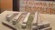 ポルトの公営住宅の模型