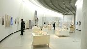 若手建築家の作品も展示