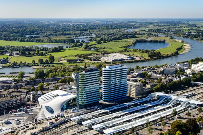 The New Arnhem Central Station...