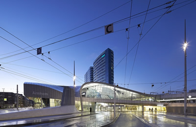 The New Arnhem Central Station (Arnhem, The  Netherlands)